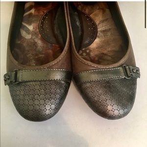 BORN MASIA LEATHER BALLET FLAT COMFORT SHOES